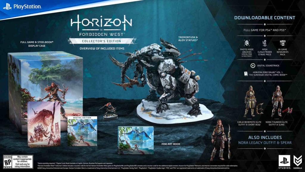Horizon Forbidden West - Collector's Edition - PG
