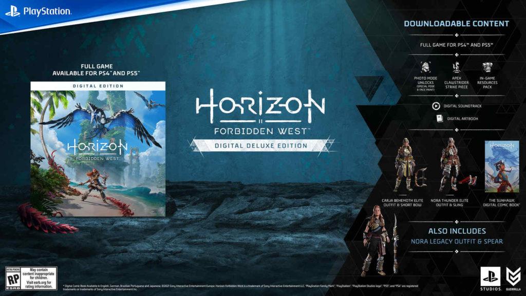 Horizon Forbidden West - Digital Deluxe Edition - PG