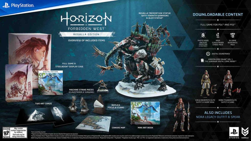 Horizon Forbidden West - Regalla Edition - PG