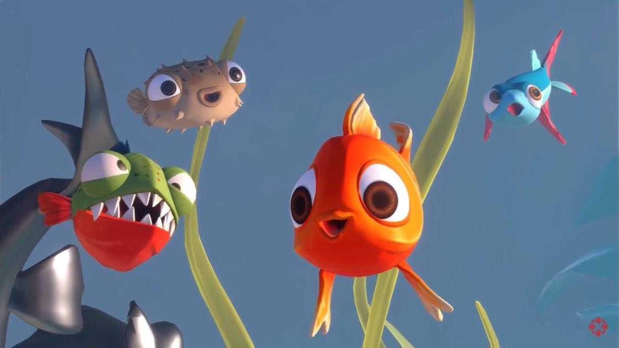 I Am Fish rybki kolorowe
