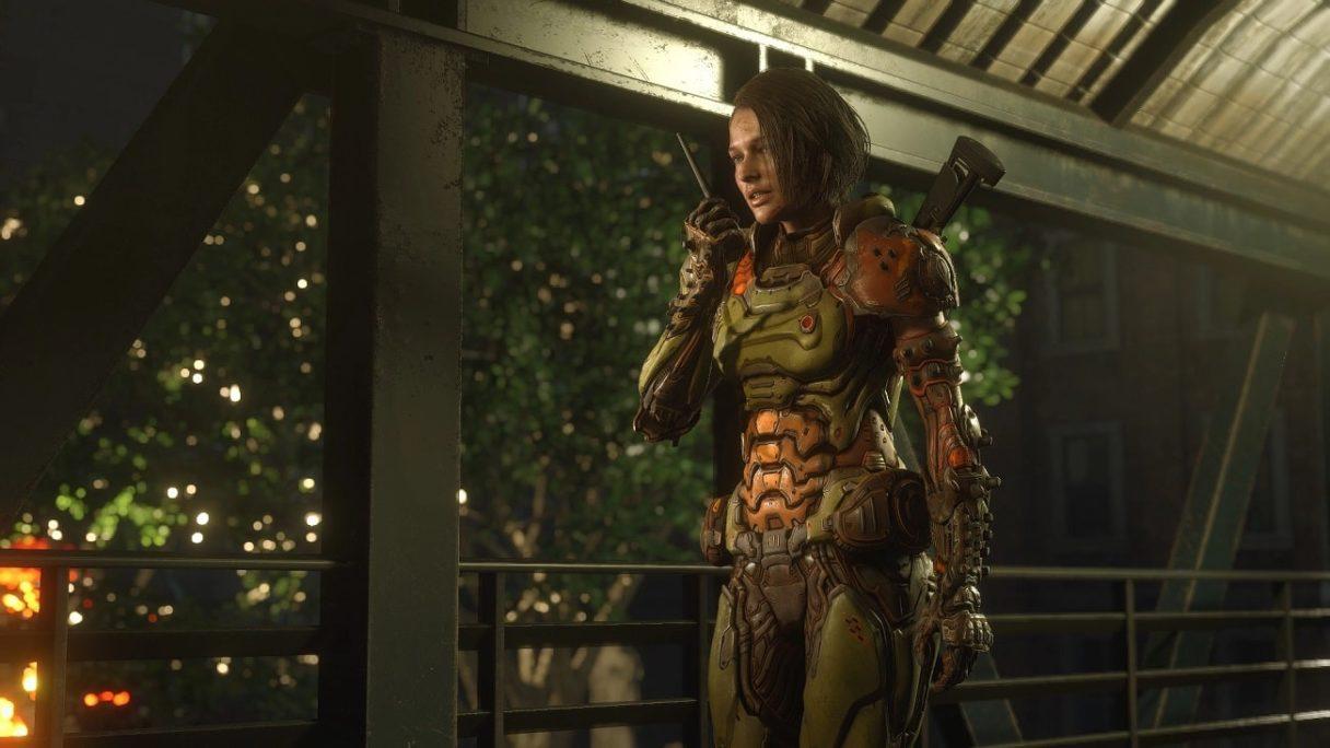jill valentine w Resident Evil 3 Doom mod