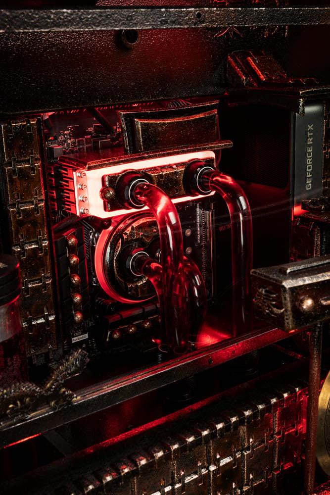 Komputer dla gracza - Nvidia - chłodzenie cieczą - PG