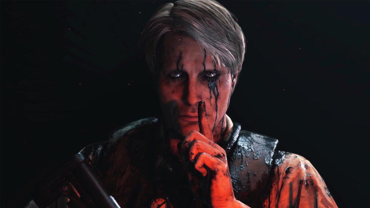 Hideo Kojima i Mads Mikkelsen - zrzut ekranu z Death Stranding
