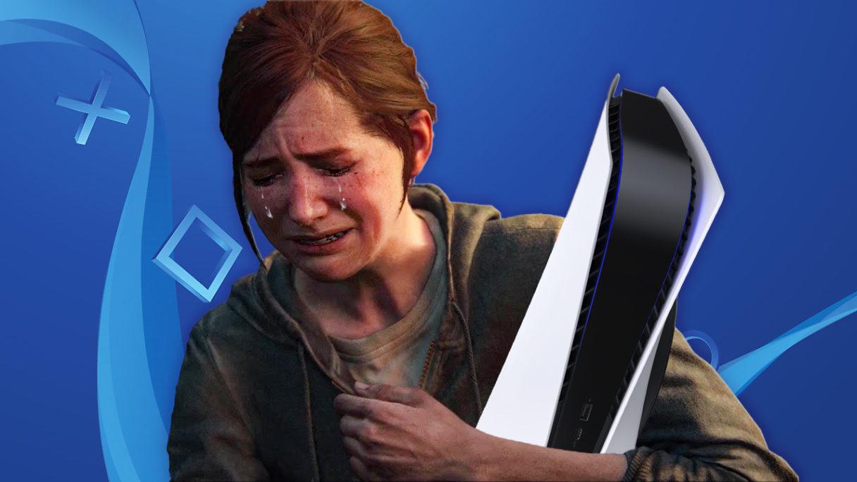 Ellie płacze z powodu gier na PSP w 2022
