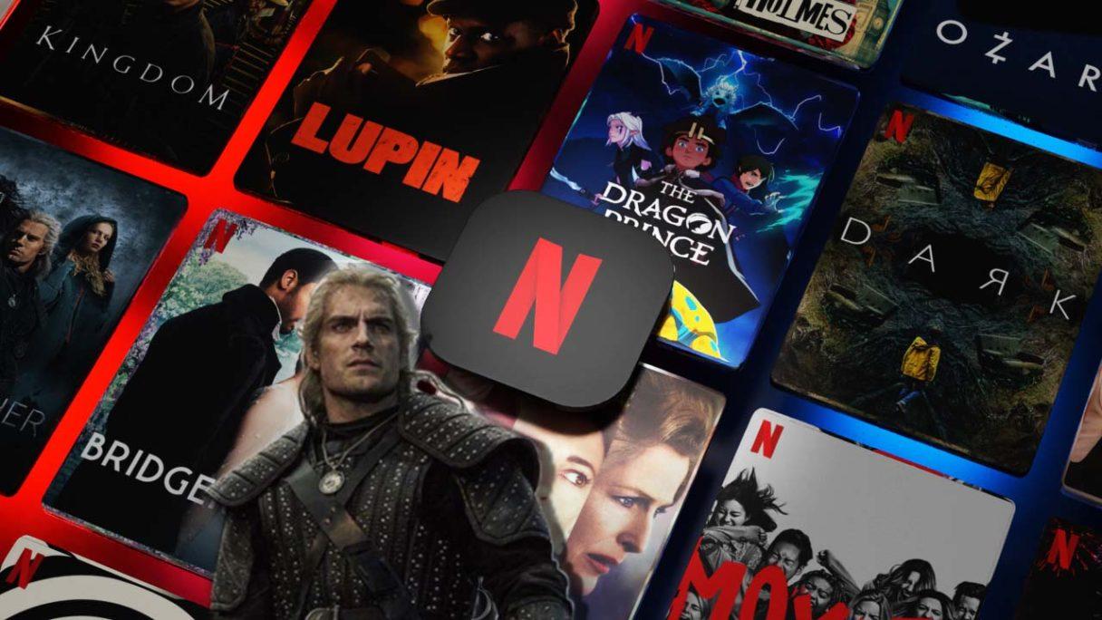 Logo Netflix i Wiedźmin