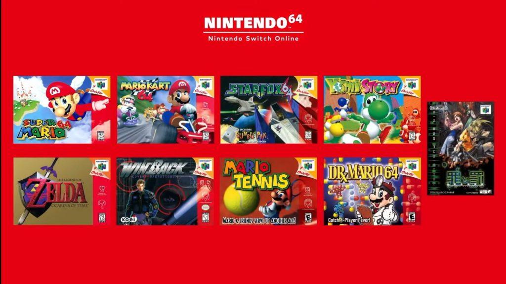 Nintendo Switch Online - Nintendo 64