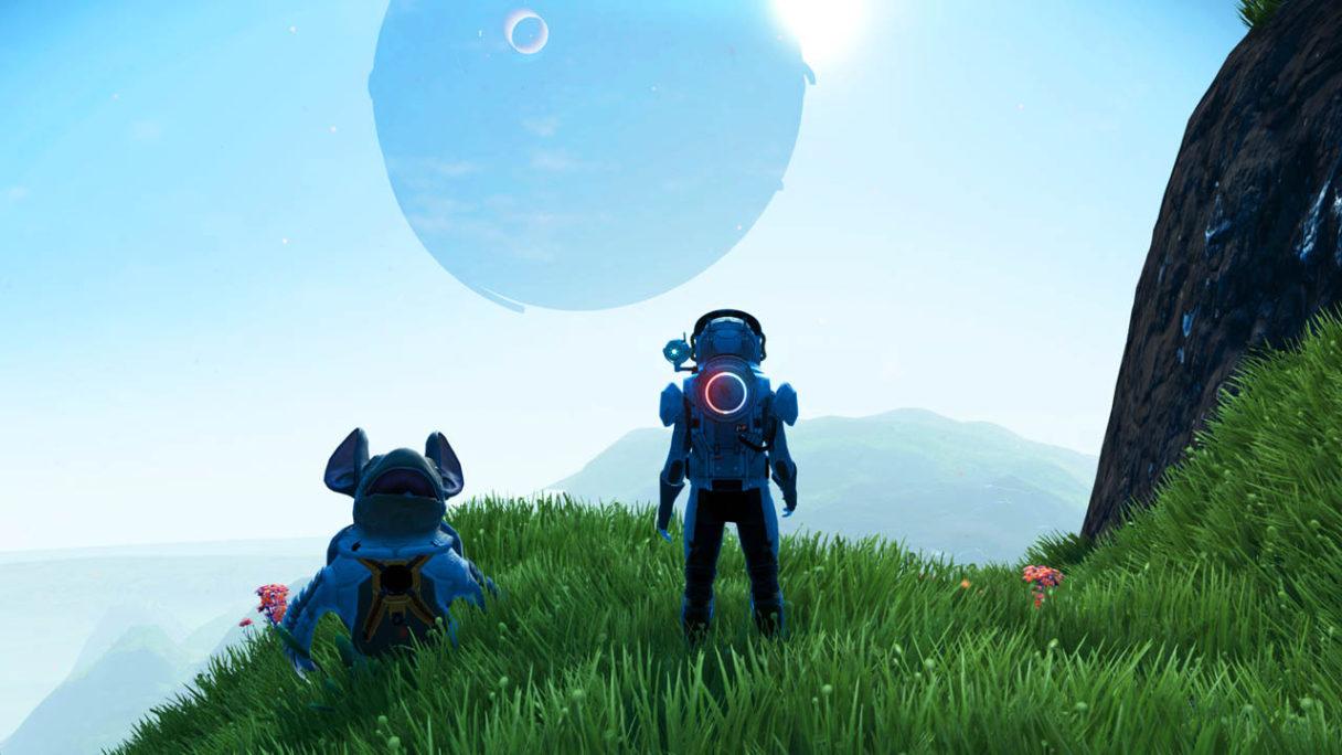 No Man's Sky - zrzut ekranu