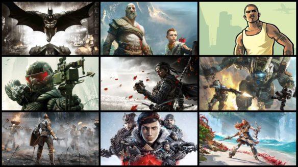 Nvidia przeciek gry - GeForce Now - okładki gier, które otrzymałyby kontynuacje lub nowe edycje