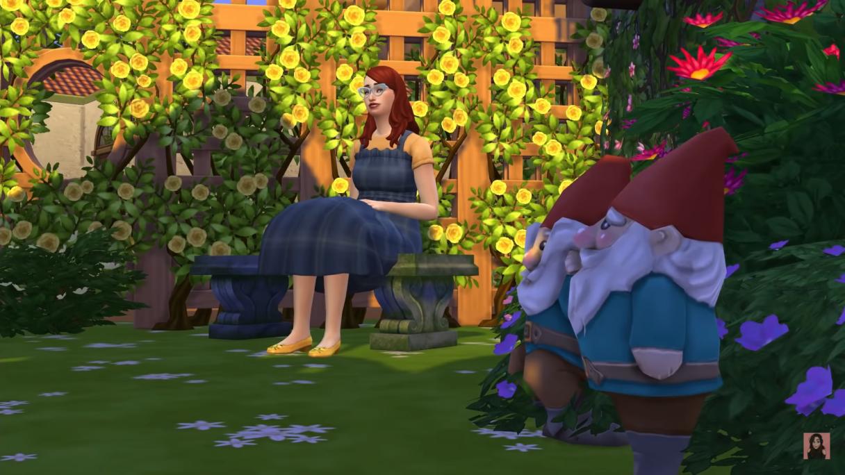 The Sims 4 ogród
