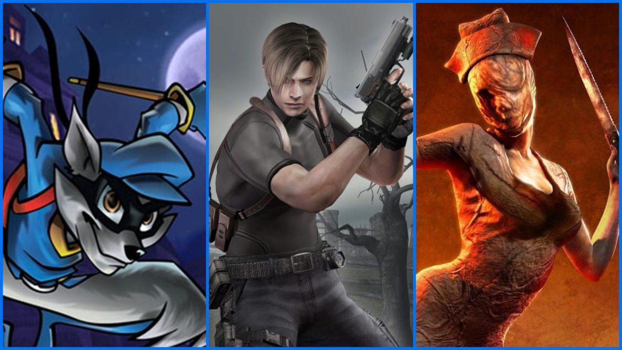 PlayStation - gry z reklamy: Sly Cooper, Resident Evil 4 i Silent Hill