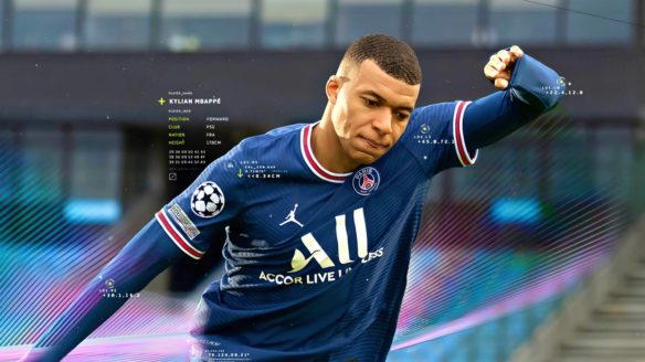Kylian Mbappe zaprezentowany w FIFA 22