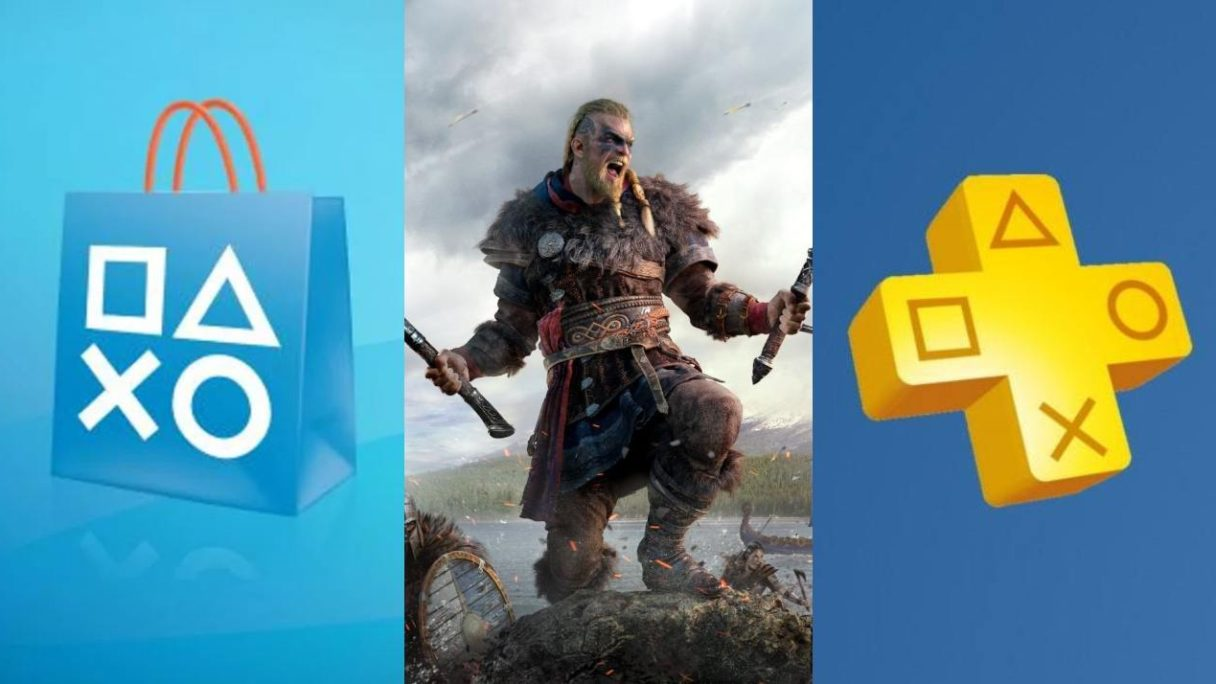 PS Store, Assassin's Creed Valhalla i PS Plus