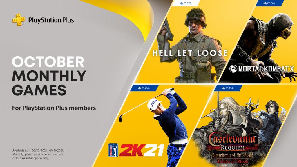 PS Plus październik 2021 w Azji