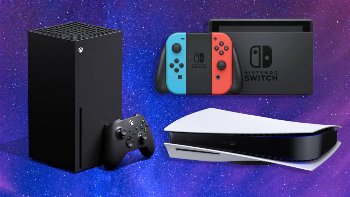 PS5, Xbox Series X i Nintendo Switch