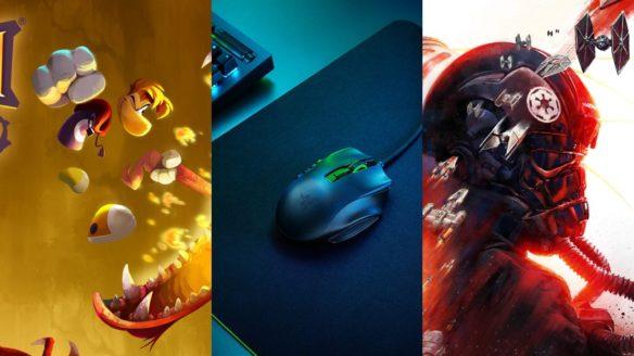 Rayman Legends Razer Naga X Star Wars Squadrons