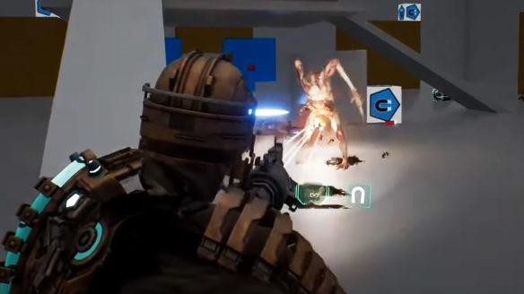Remake Dead Space - zrzut ekranu z wczesnej wersji gry