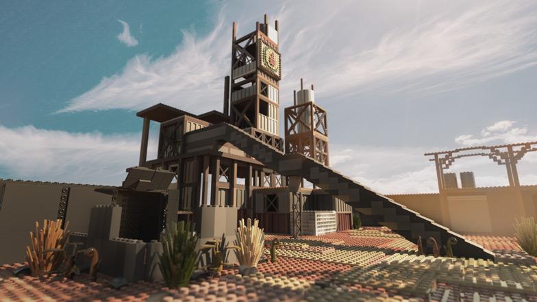 Call of Duty x LEGO - mapa Rust - PG