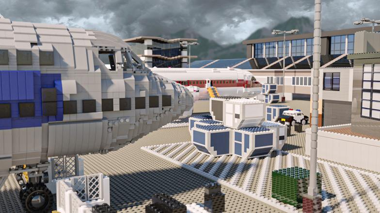 Call of Duty x LEGO - mapa Terminal - PG