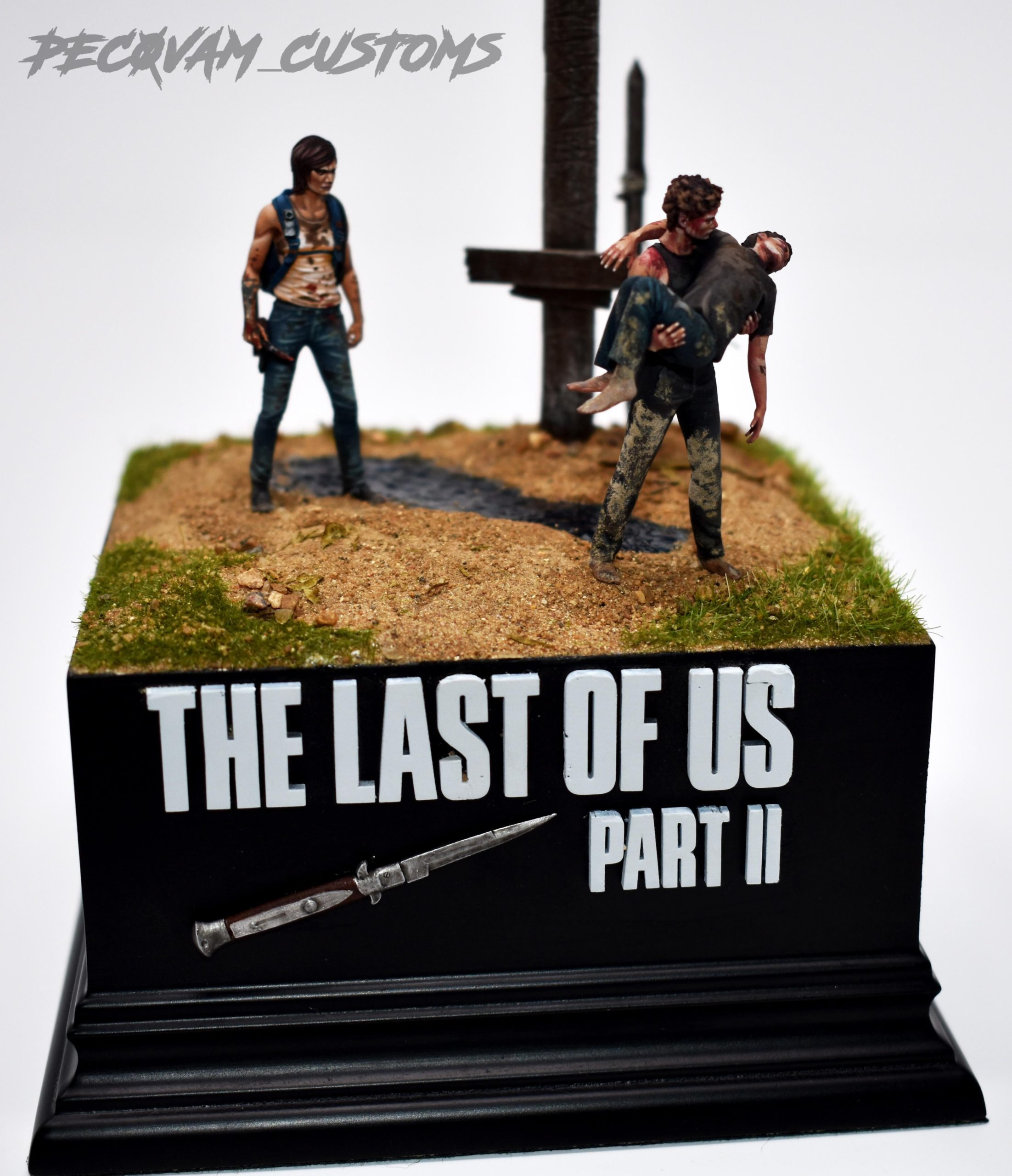 Diorama z The Last of Us 2