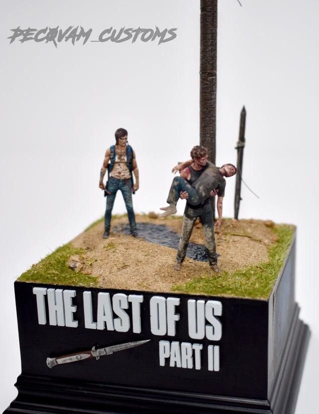 Diorama z The Last of Us 2 zdjęcie 2