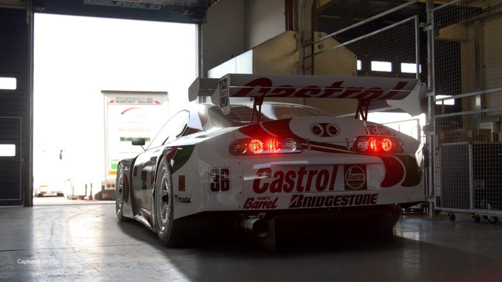 Gran Turismo 7 - Toyota Supra GT500 97' (Castrol Tom's) w garażu