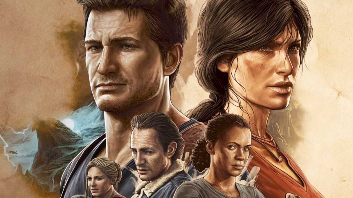 Uncharted Legacy of Thieves - grafika