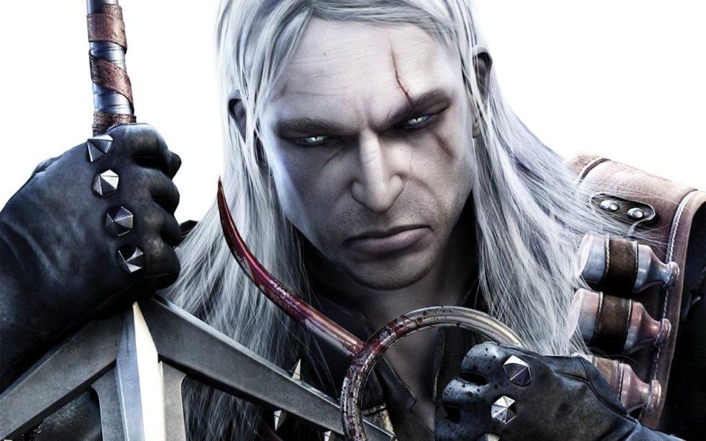 Geralt z hakiem w Wiedźmin 1