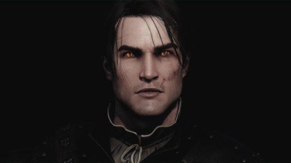 Wiedźmin 3 Dziki Gon - czarnowłosy Geralt - PG