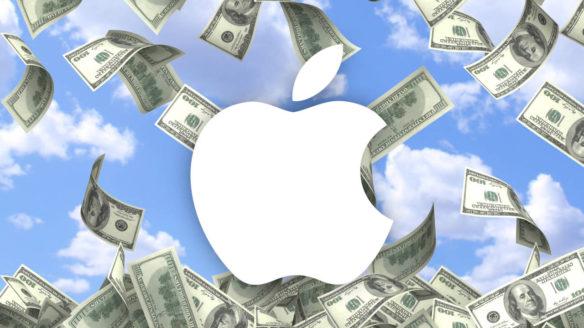 Apple logo - dolary - pg