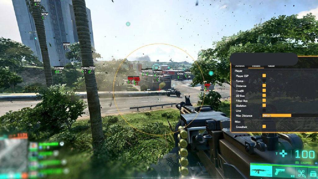 Battlefield 2042 - aimbot - PG