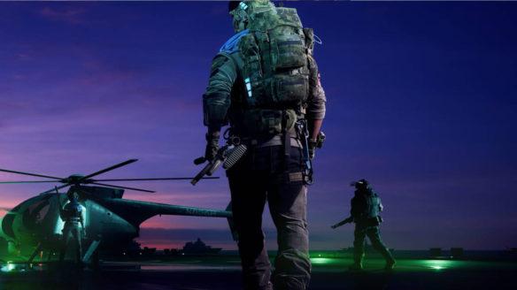 Battlefield 2042 - Hazard Zone - żołnierz idzie w stronę helikoptera