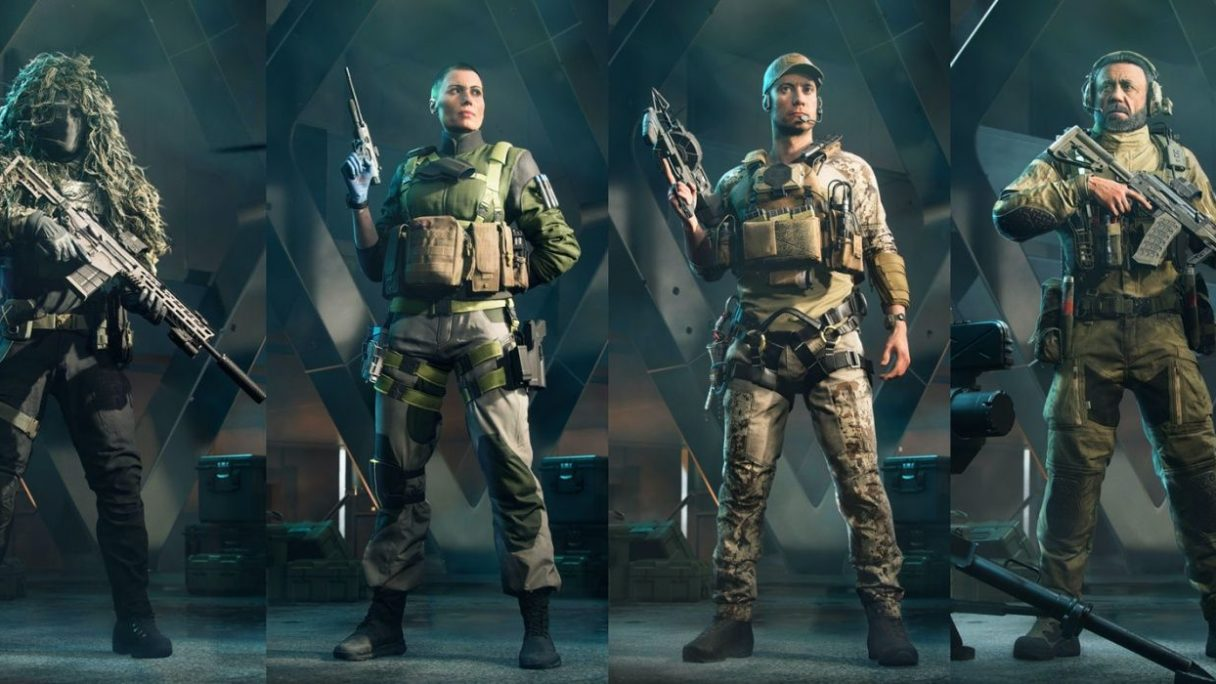 battlefield 2042 klony