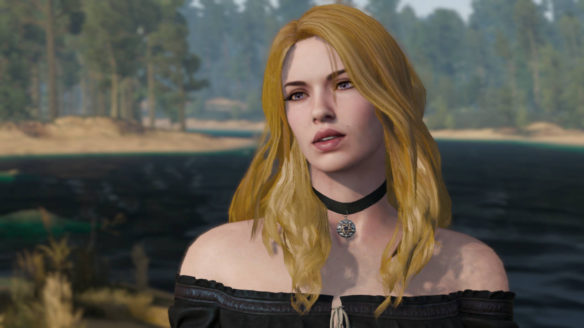 Blonde Yennefer - mod do gry Wiedźmin 3: Dziki Gon - PG