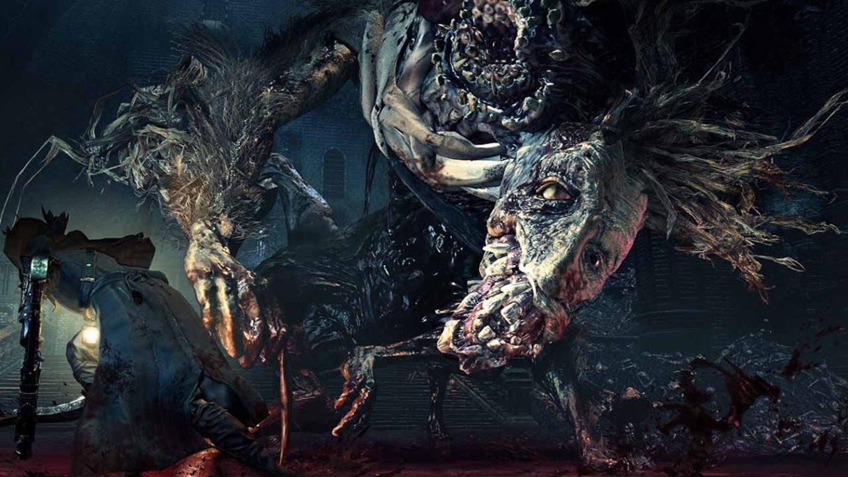 Bloodborne - zrzut ekranu