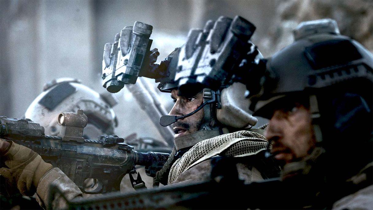 Call of Duty Modern Warfare - grafika z żołnierzami