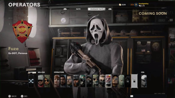 Call of Duty - Ghostface z bazooką w ręku