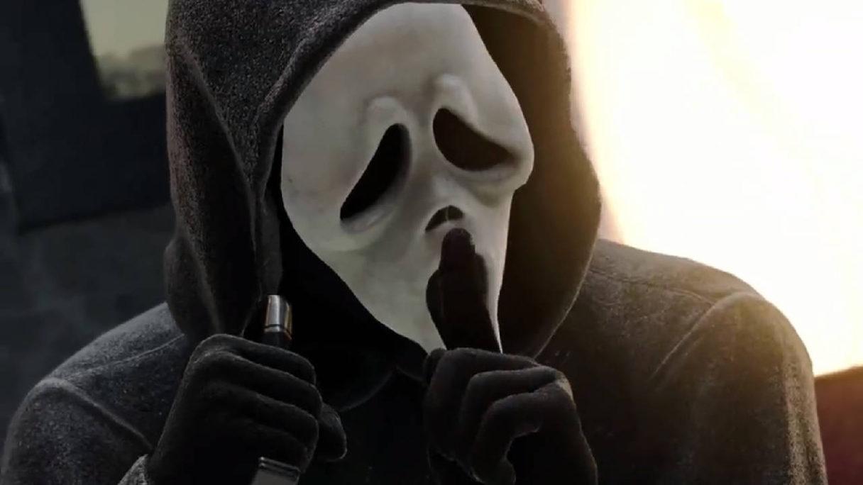 """Call of Duty Warzone Black Ops Cold War - Ghostface robi """"ciiiii"""" z nożem w ręce"""