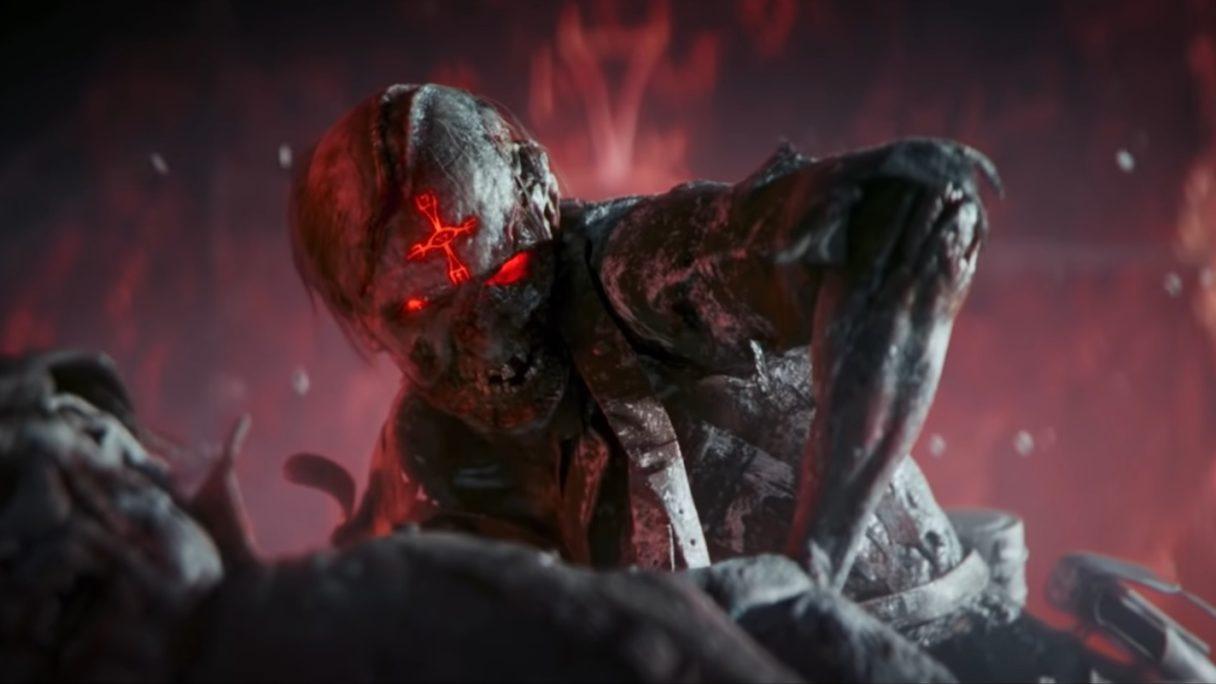CoD Vanguard zombie