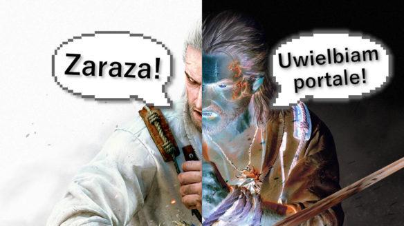 """Geralt mówi """"Zaraza!"""" i jego alter ego mówi """"Uwielbiam portale!"""""""