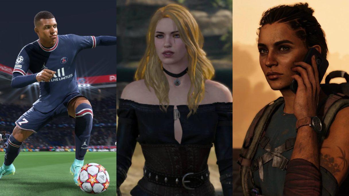 Piłkarz z FIFA 22, Yennefer blondynka i Dani z Far Cry 6