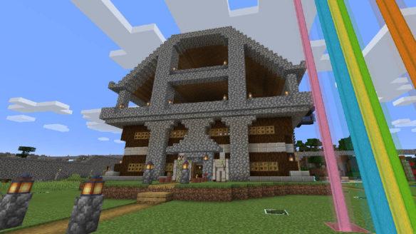 Dom w Minecraft - PG