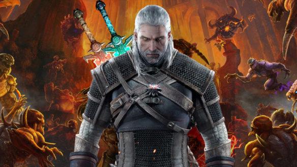 DOOM Eternal x Wiedźmin 3 - Geralt w piekle - PG