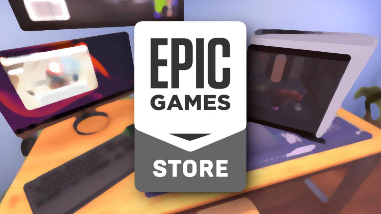 Epic Games Store - darmowe gry - PC Building Simulator