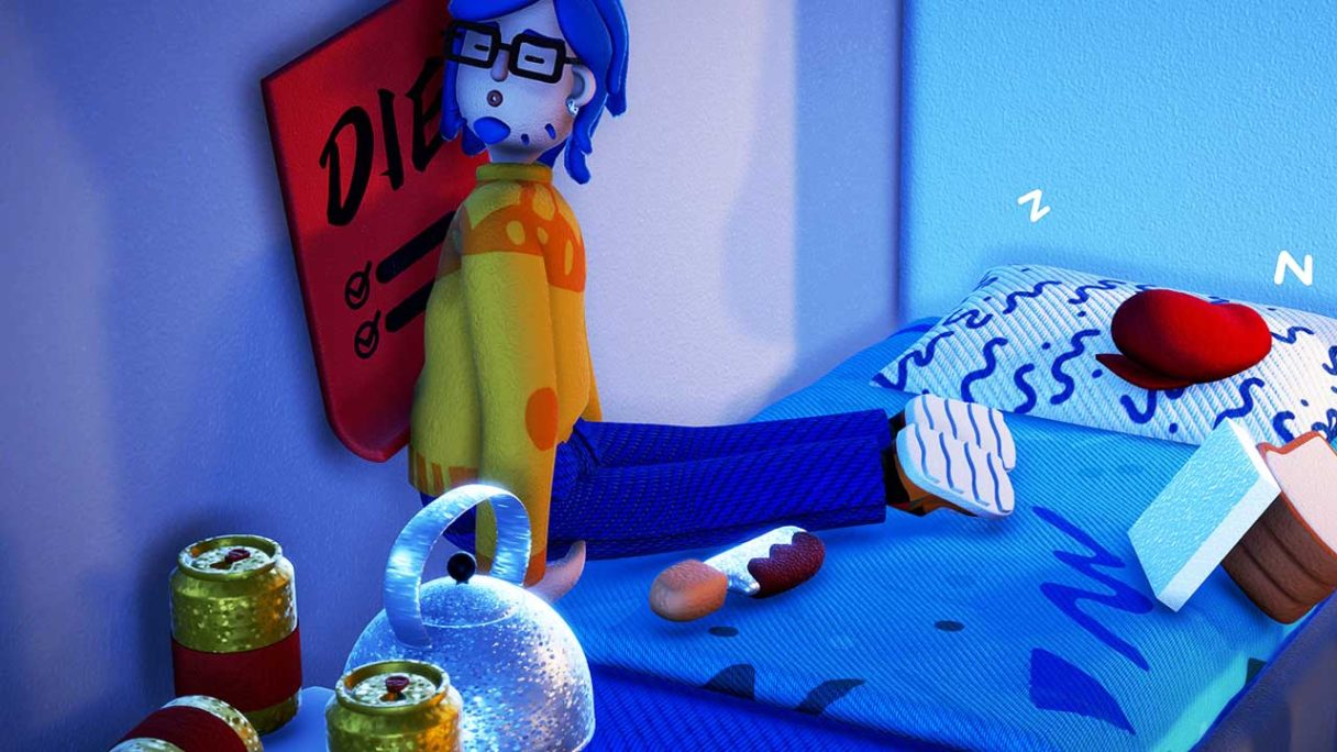 Exhausted Man - zrzut ekranu
