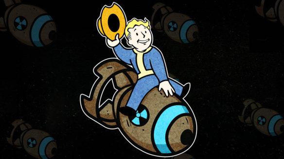 Fallout 76 - grafika z Nuke Boy'em