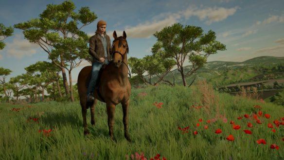 Farming Simulator 22 kuń