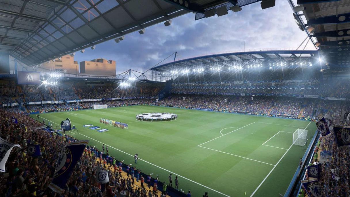 FIFA 22 - stadion chelsea f c
