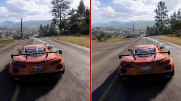 Forza Horizon 5 - porównanie trybów działania