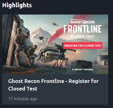 Ghost Recon Frontline - przeciek