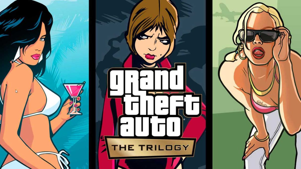 GTA: The Trilogy – The Definitive Edition - okładka